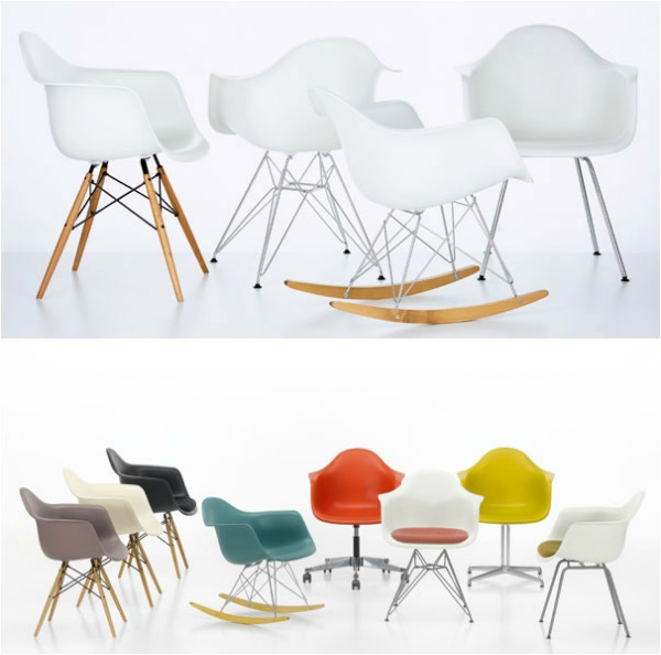 Design charles en ray eames for Ray eames stoelen