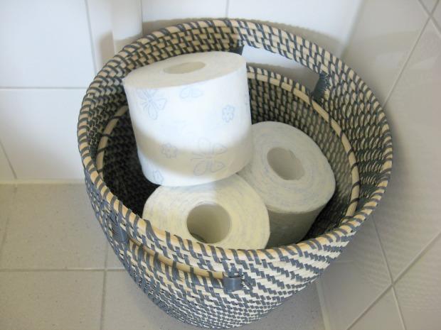 mand toiletrollen
