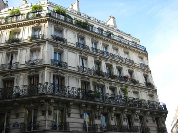 balkon parijs