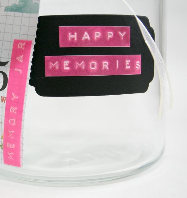 memory jar detail