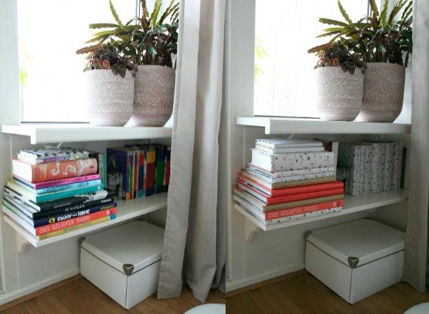 Snelle Stylingtip: boeken kaften