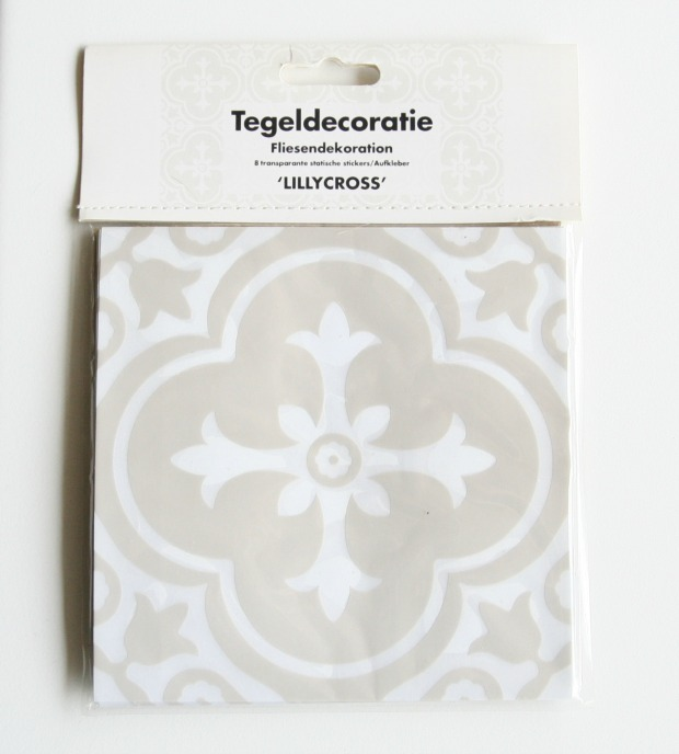 Quick Stylingtip: tile stickers – Creative Designs at home