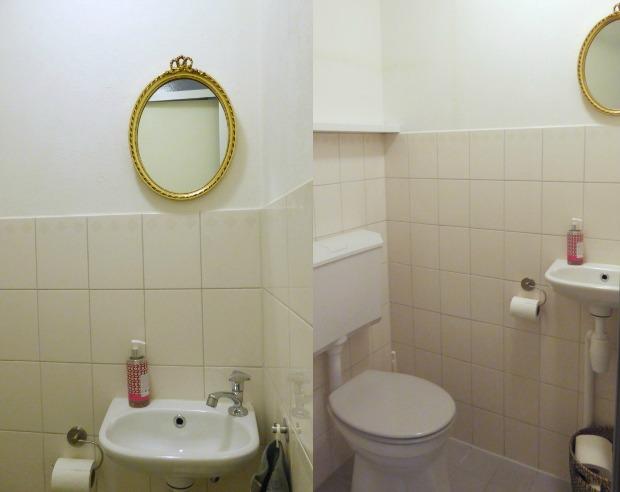 Slaapkamer Commode Met Spiegel : Toilet make-over - Eenig Wonen