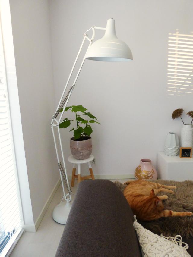 De lampen in mijn huis, wit en hout - Eenig Wonen