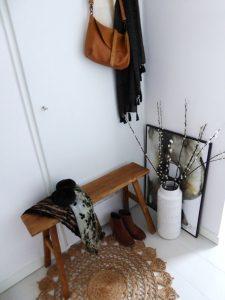 Betere houten-bankje-hal - Eenig Wonen EY-82