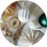 Kerstsfeer in mijn huis 2016: wit, groen en hout